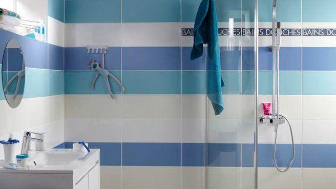 Quand le carrelage crée le décor de la salle de bains