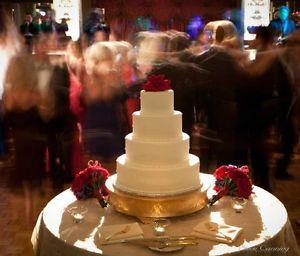 Grand Wedding Matte Gold Round Cake Stand Plateau 14 Inch   Round Cakes,  Matte Gold And Rounding