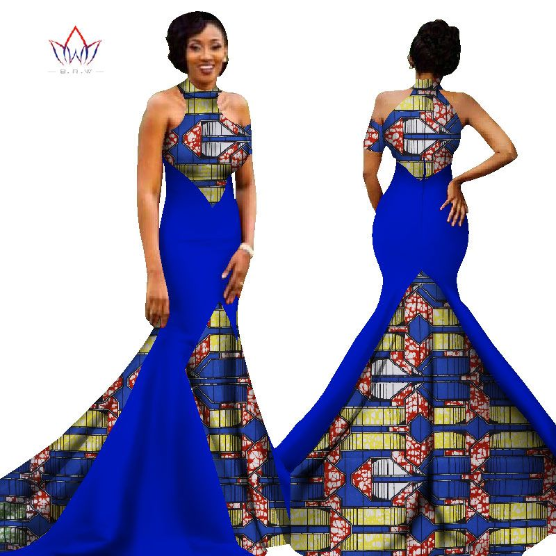 e1a2bb4fed Online Shop Mermaid African Dresses New Arrival Sleeveless Floor Length  Women Formal Occasion Dress Africa Evening Gowns for Women WY1314 |  Aliexpress ...