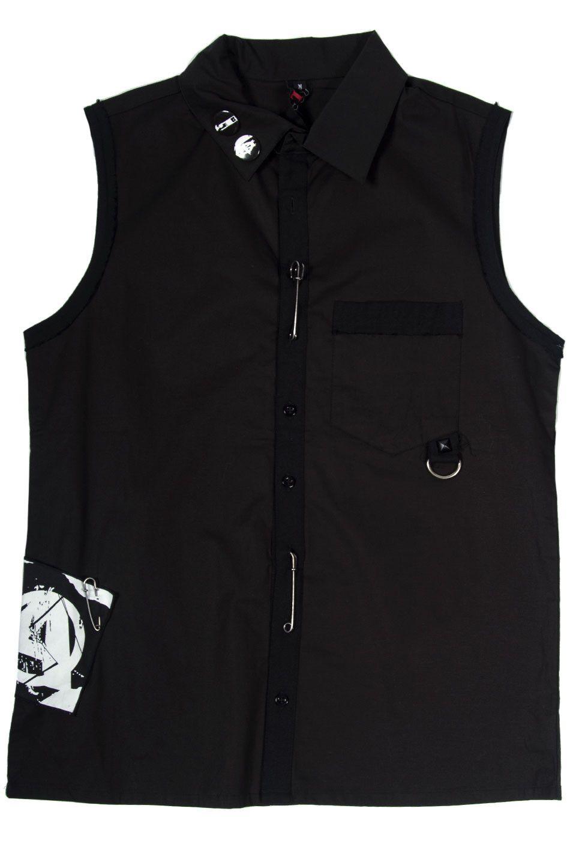 LIP SERVICE Punk & Disorderly sleeveless shirt #M49-7-00