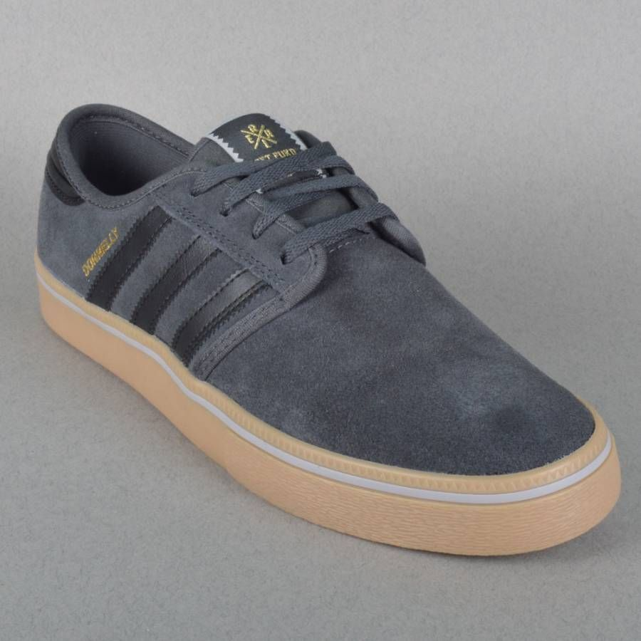 the best attitude 4fee8 8eb2e Adidas Skateboarding Seeley ADV X Jake Donnelly Skate Shoes - Solid  Grey Core Black Gum
