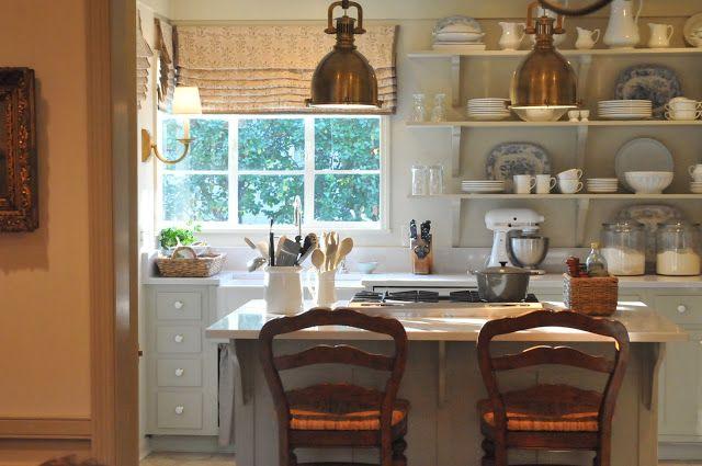 Kitchen kitchen Pinterest offene Regale, Küchenfarben und - küche farben ideen