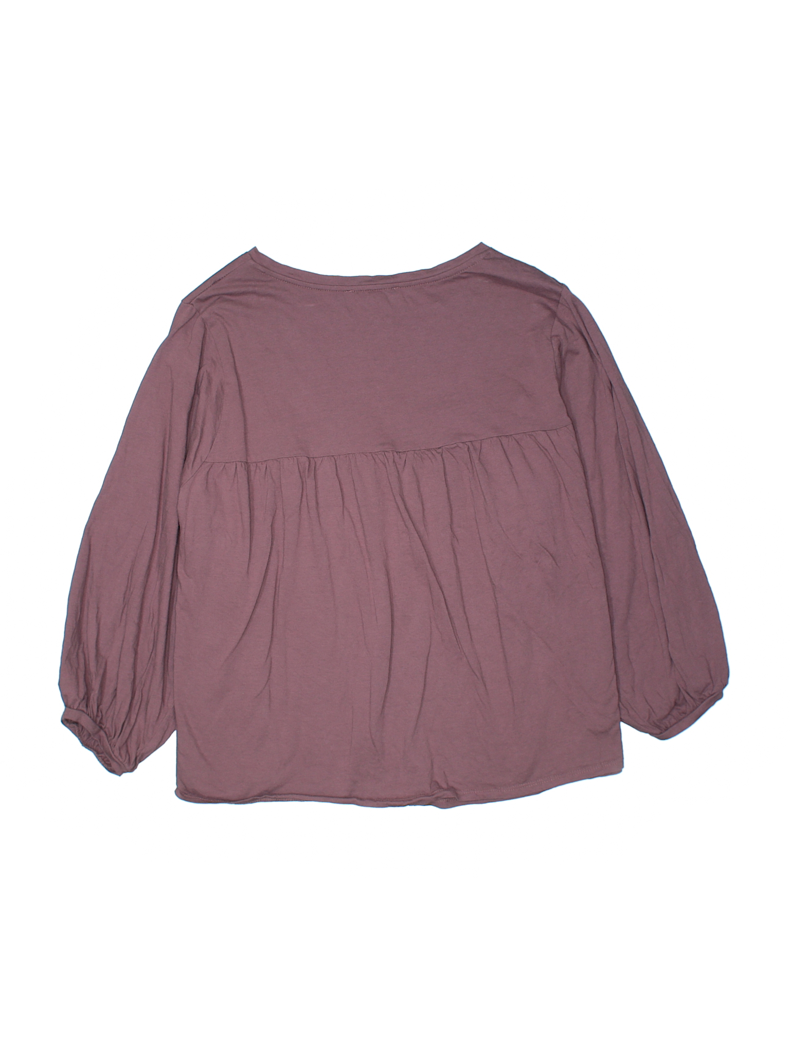 Olivia Sky 34 Sleeve Top Size 1200 Coral Womens Tops