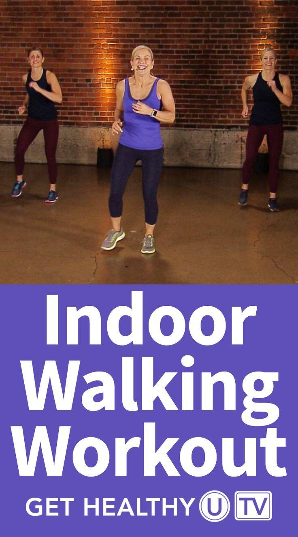 Indoor Interval Walking Workout