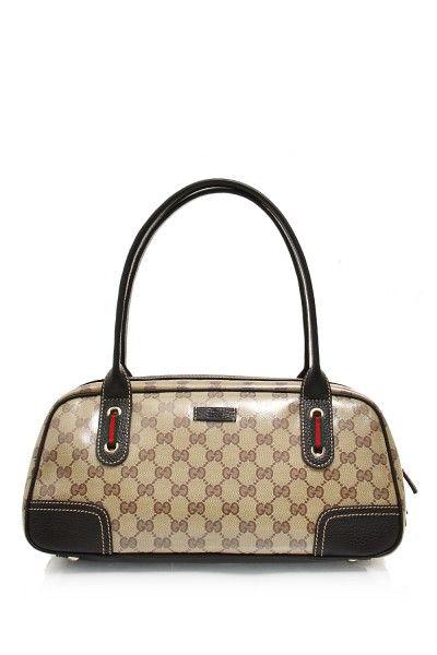 a6cc4a1cbc5e Gucci- Crystal 'GG' Guccissima Boston Bag #Gucci #Handbags   Gucci ...