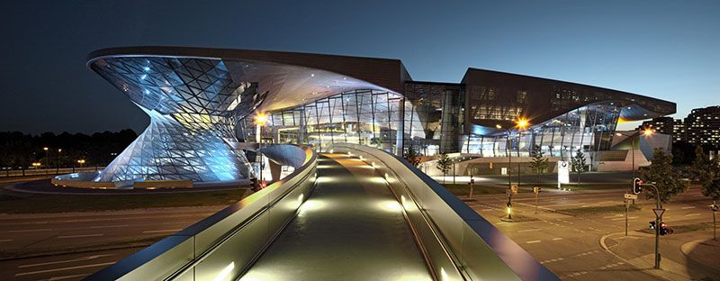 BMW Welt, un tornado di vetro e acciaio • Architettura