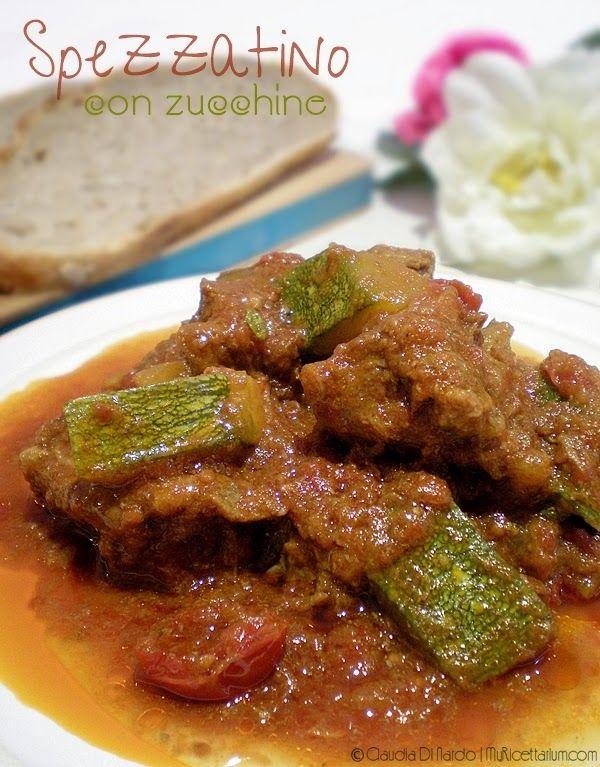 My Ricettarium: Spezzatino di manzo con zucchine
