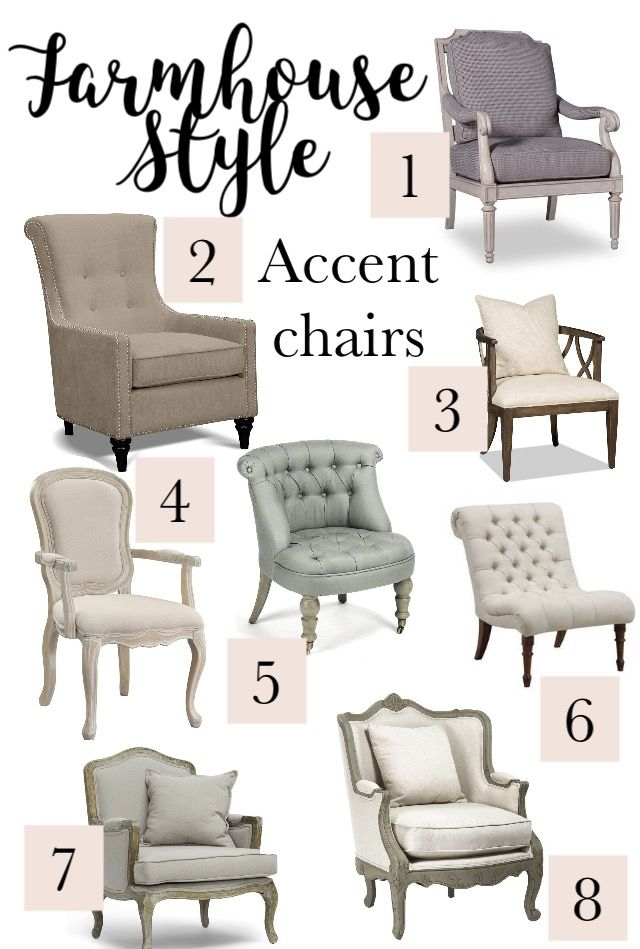 Farmhouse Style Accent Chairs Give The Farmhouse Look To Any Room Adding Ac Farmhouse Style Living Room Furniture Farmhouse Accent Chair Farm House Living Room