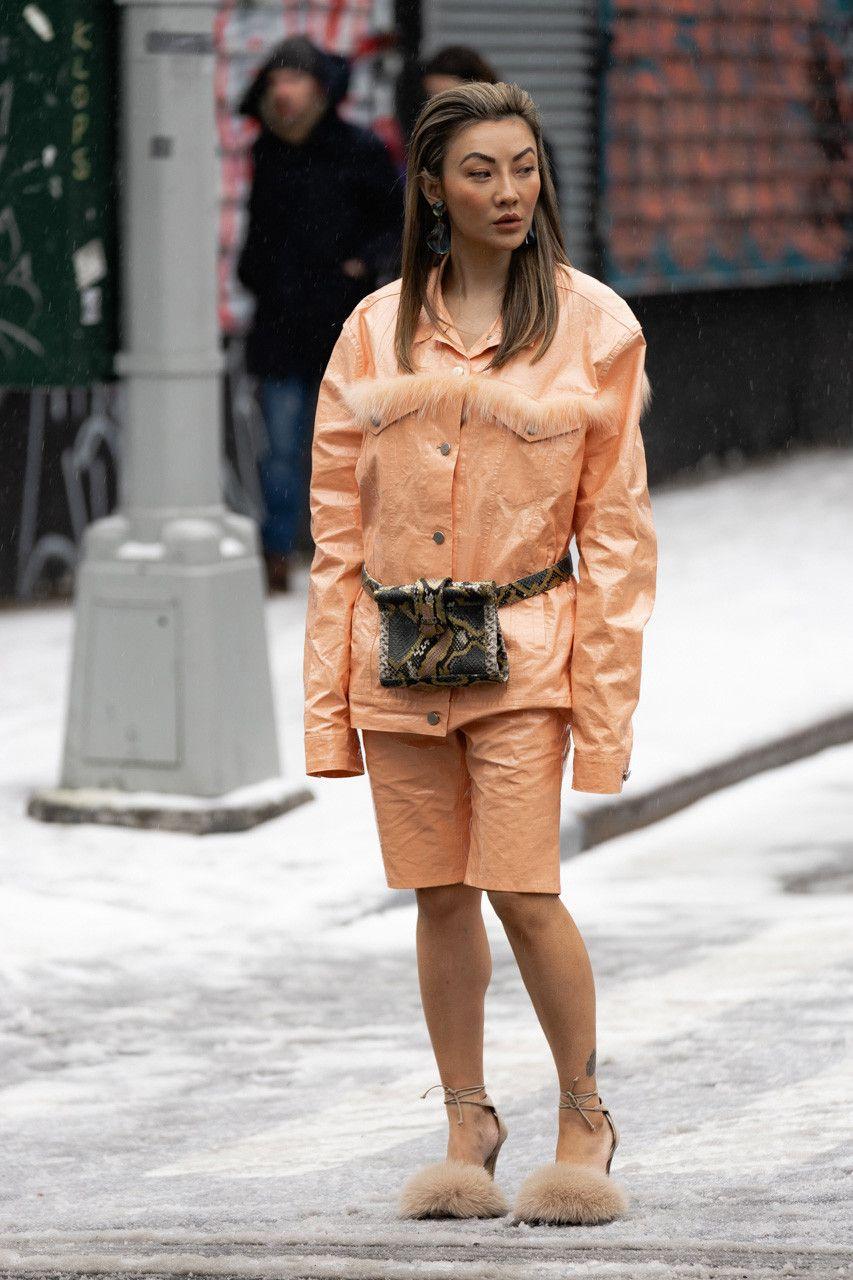 88b331e74 New York Fashion Week FW19 fall winter 2019 city Street Style Snaps outfits  photograph calvin klein dior nike air max tn tuned palm angels louis  vuitton off ...