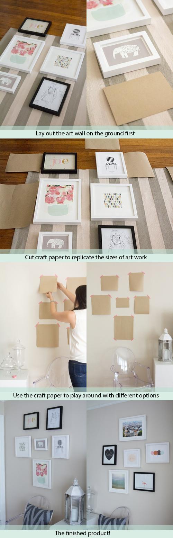 How To Create An Art Wall