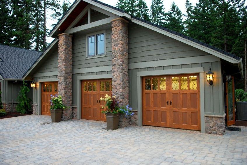 Great Country Garage Garage Door Design House Exterior Wooden Garage Doors