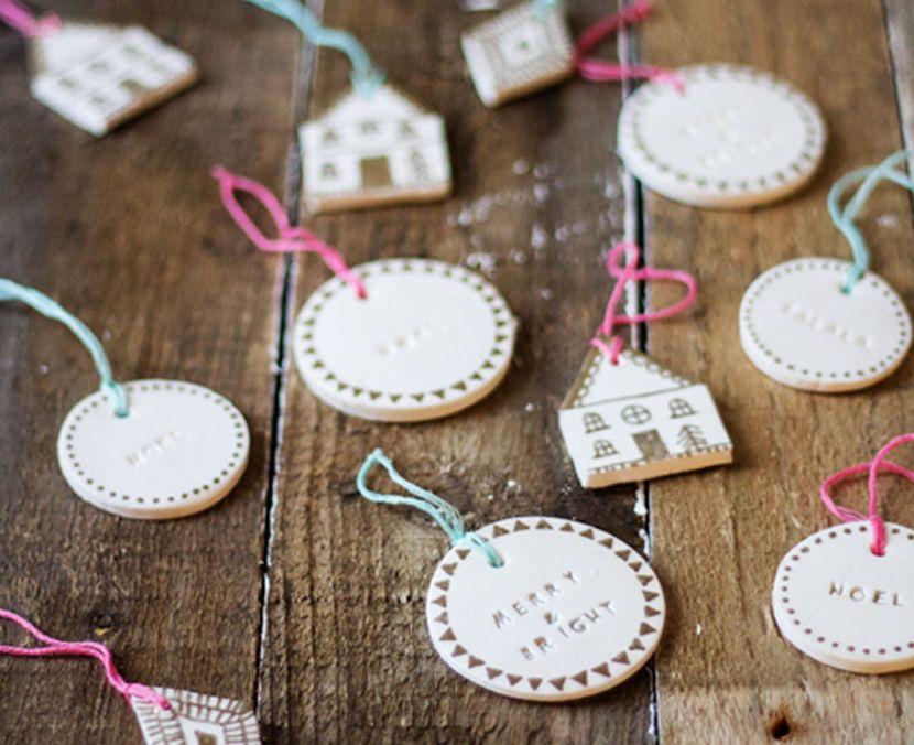 Manualidades Navidenas Con Arcilla.Adornos De Navidad Con Arcilla Craft Ideas Arcilla De
