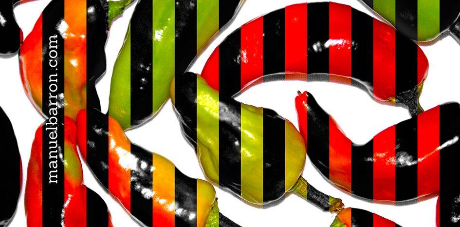 Diseño decorativo: CHILES DE AGUA, OAXACA. manuelbarron.wordpress.com