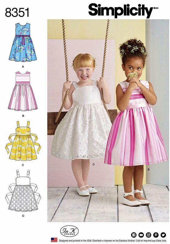 0141ca01dd7a7 Girls' Dress Pattern Little Girls' Sundress Pattern | Child Patterns ...
