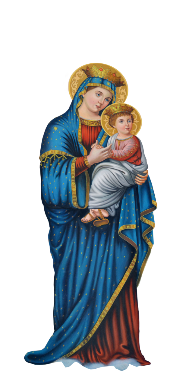 Mary By Joeatta78 On Deviantart Mother Mary Images Virgin Mary Statue Mary And Jesus