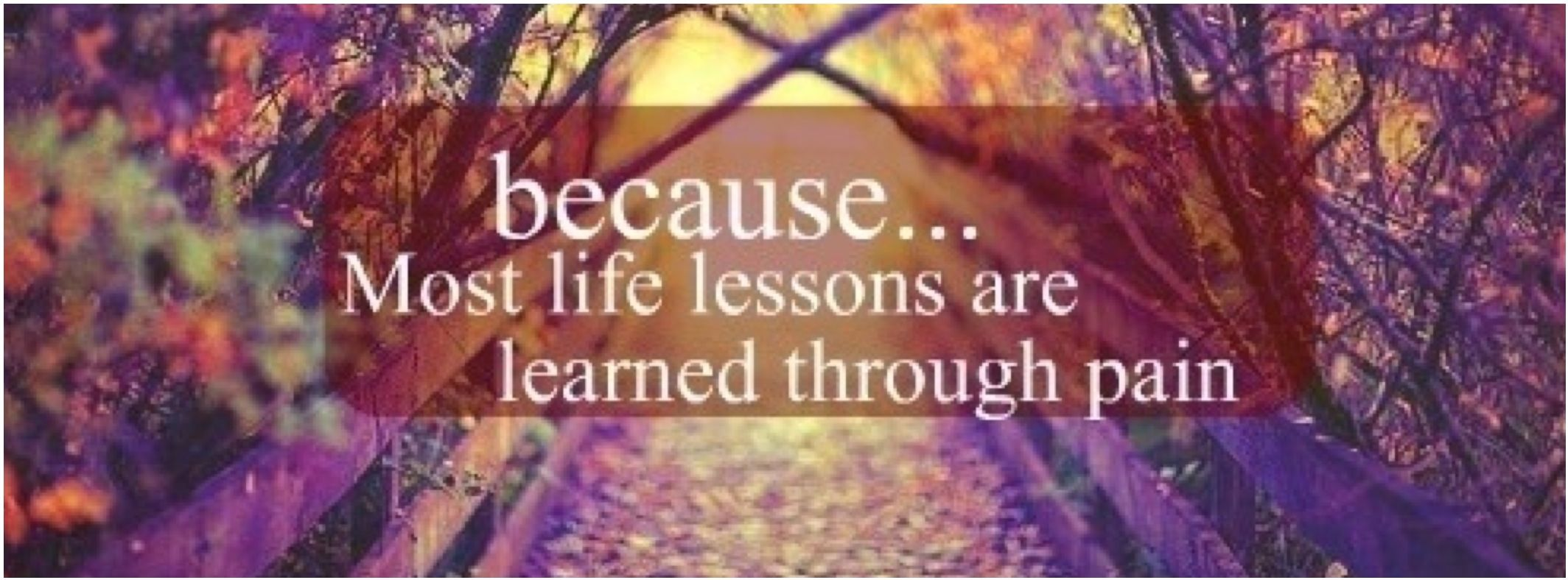 Lessons can hurt, Facebook cover photo Cover pics for