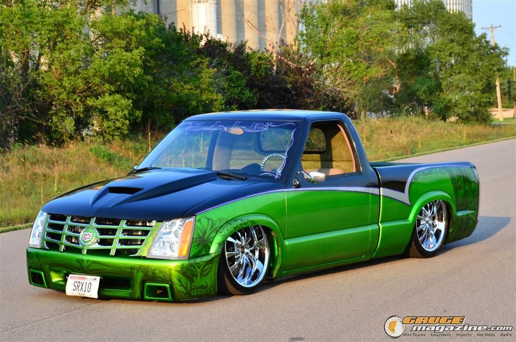 1997 Chevy S10 On Air Suspension Mini Trucks Chevy S10