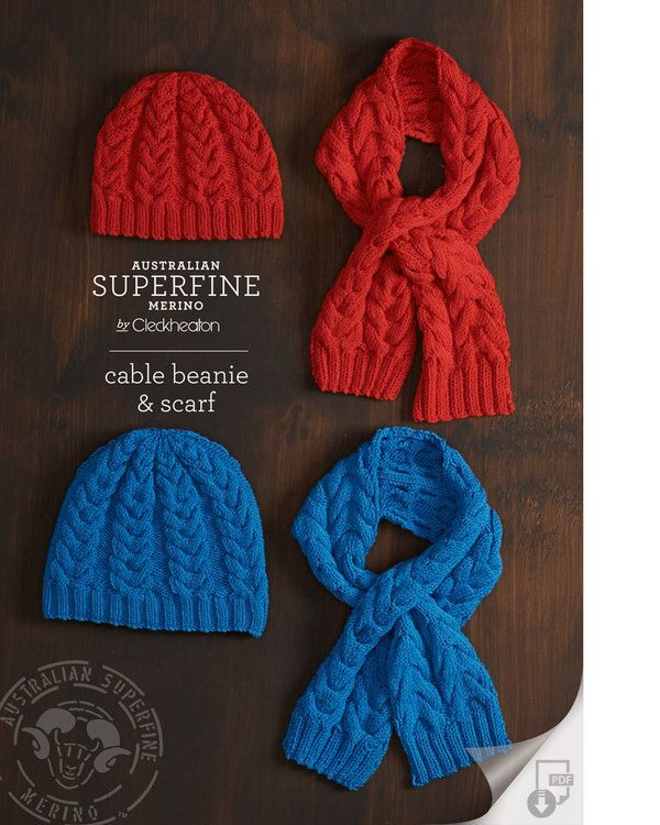 FREE Cable Beanie and Scarf  6599f1a527a