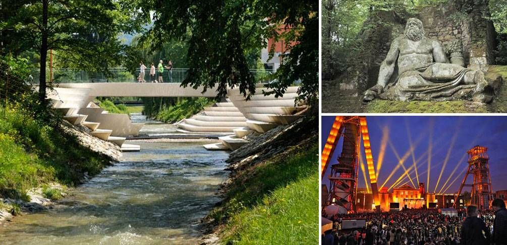 10 Of The Best Tourist Spots For Landscape Architecture In Europe