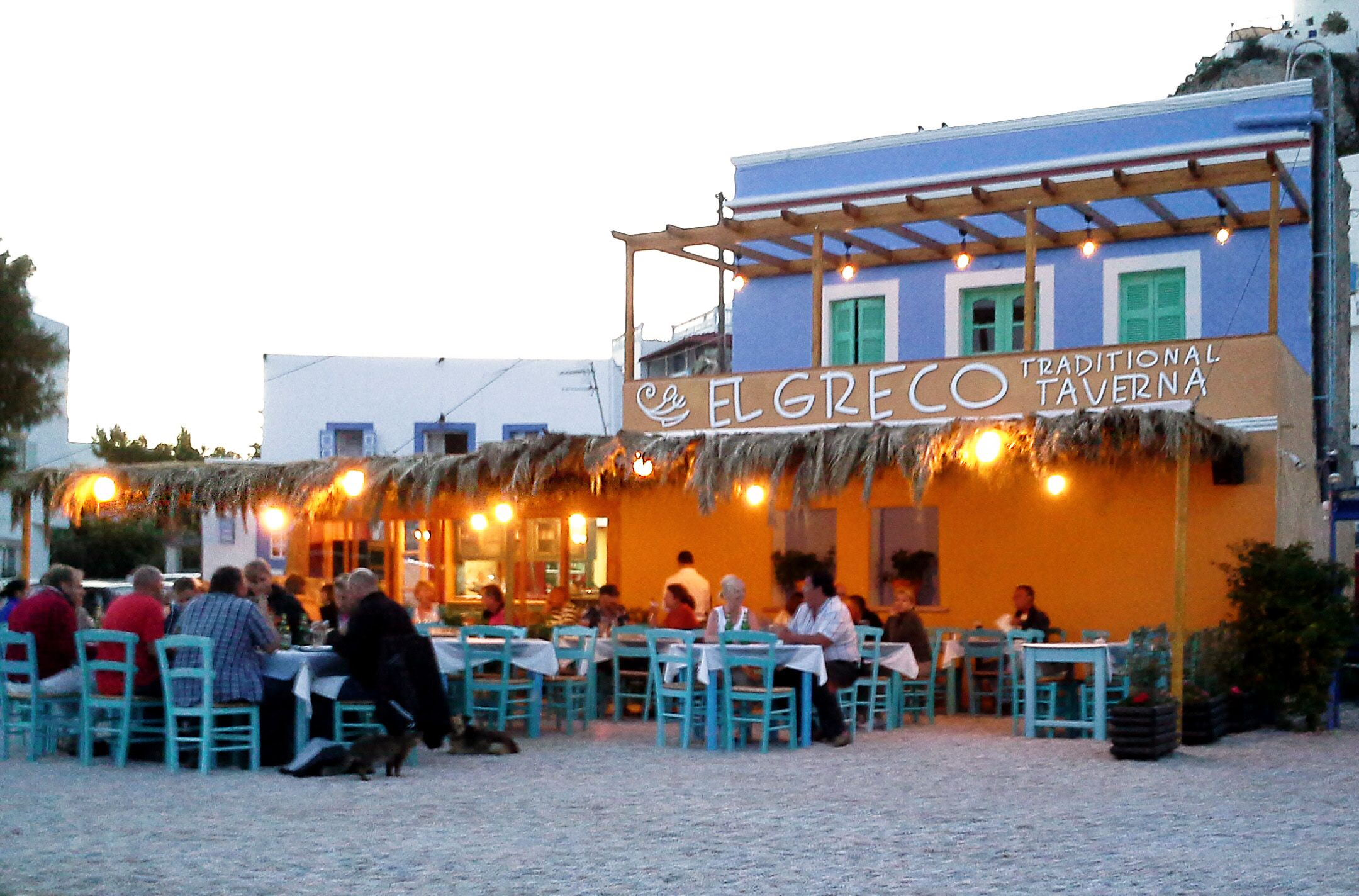 Another great evening, eating at El Greco Traditional Taverna