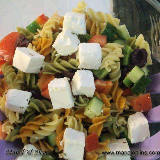 سلطة المكرونة بالصلصة التركية Mediterranean Recipes Recipes Salad