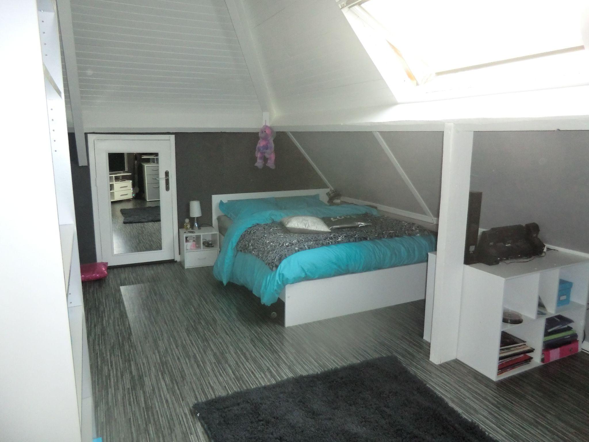 Décoration chambre turquoise et gris | Déco chambre Léo ...