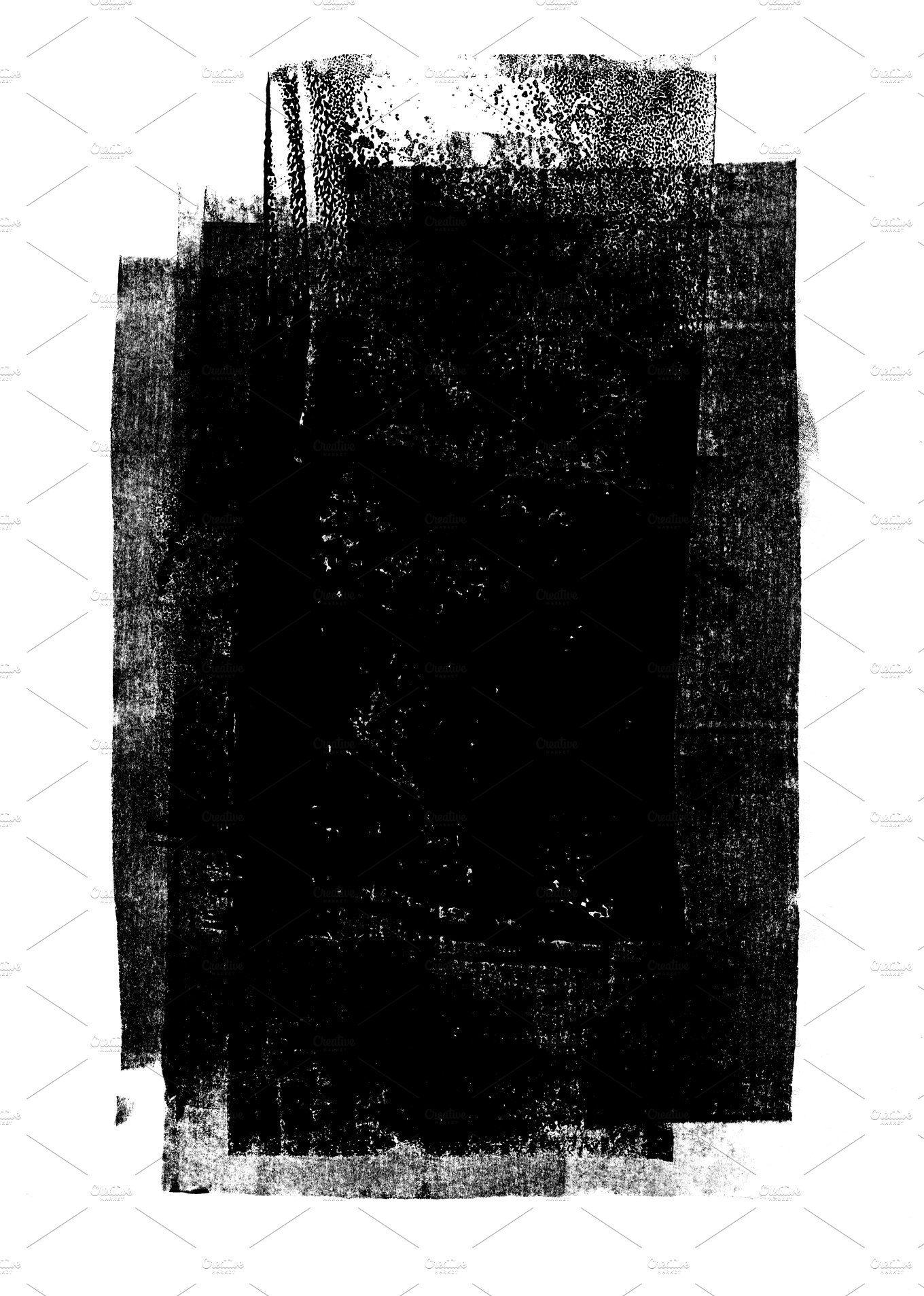 Black Rolled Ink Texture Design De Cartazes Imagens Para Slides