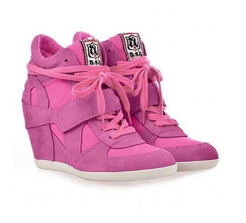 ef530074ede Footwear · pink · Wedged SneakersShoes ...