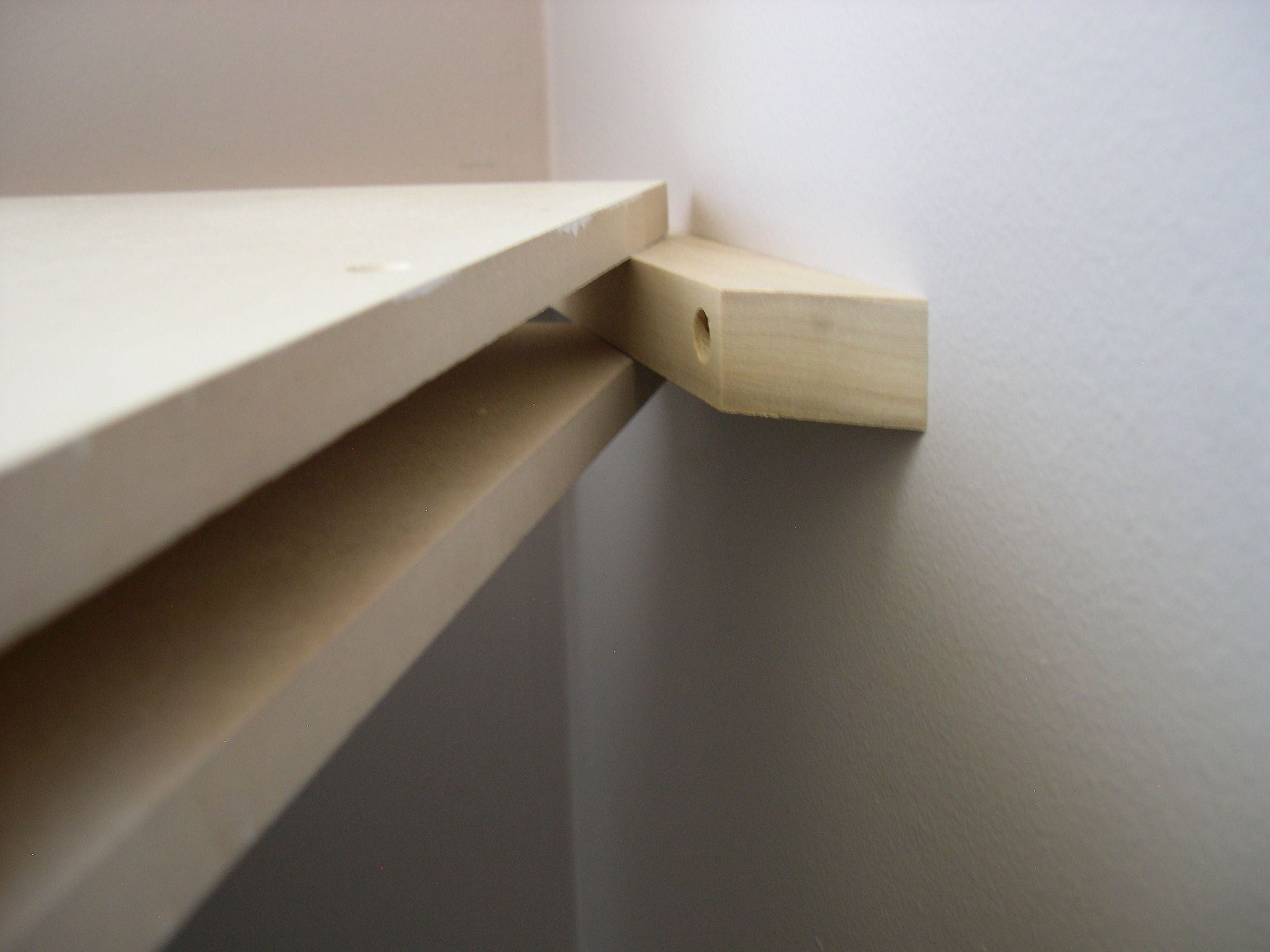 How to build floating shelves with bracketless ideas wall for How to make wall shelves easy