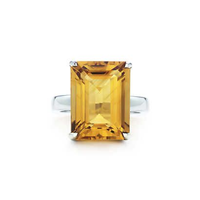 ba02598a4 Tiffany Sparklers citrine cocktail ring in sterling silver. | Tiffany & Co.