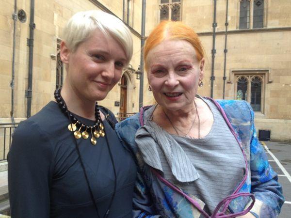 Our Katie met Vivienne Westwood this week!