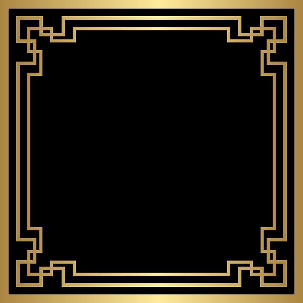 Border Deco Frame Png Gold Clip Art Desain Bingkai Wallpaper Ponsel