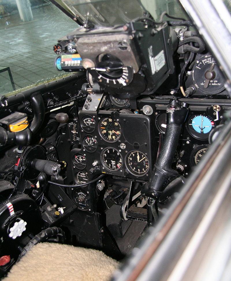 DH 112 Cockpit de Havilland Venom Wikipedia De