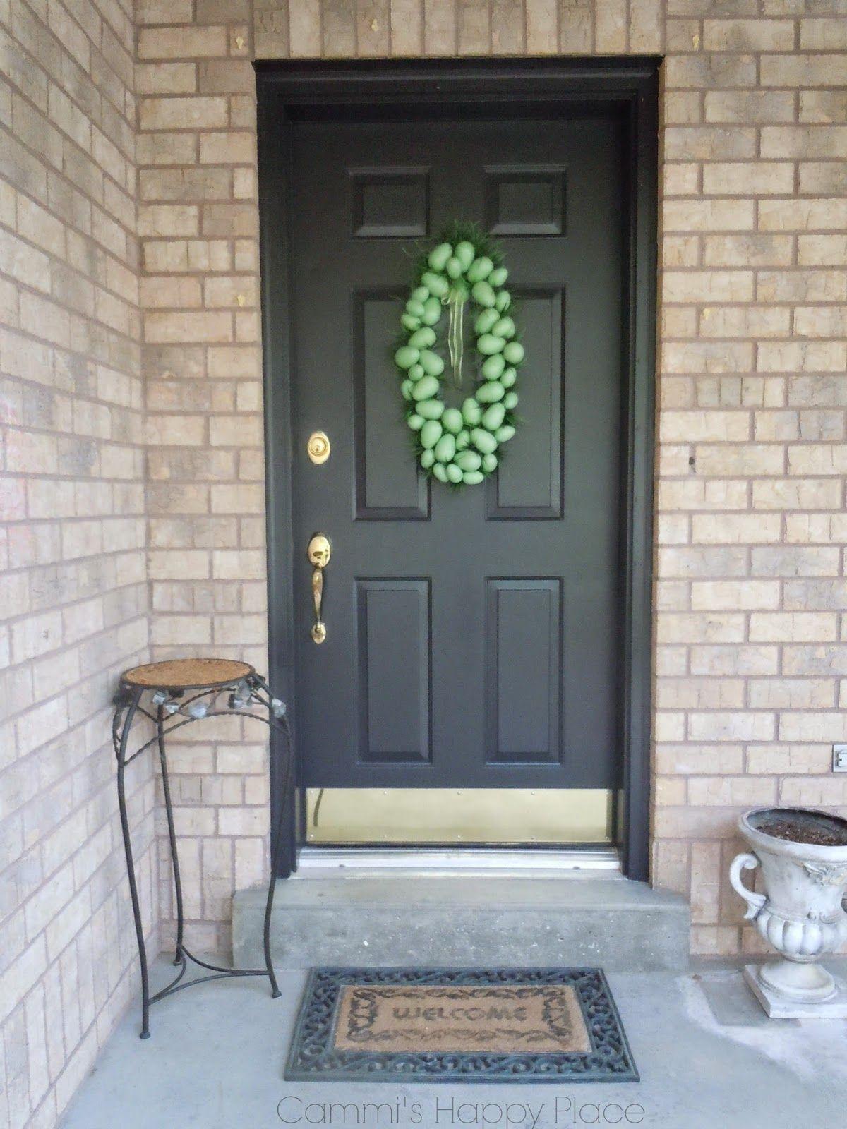 Front Door Making A Color Change Wythe Blue Benjamin
