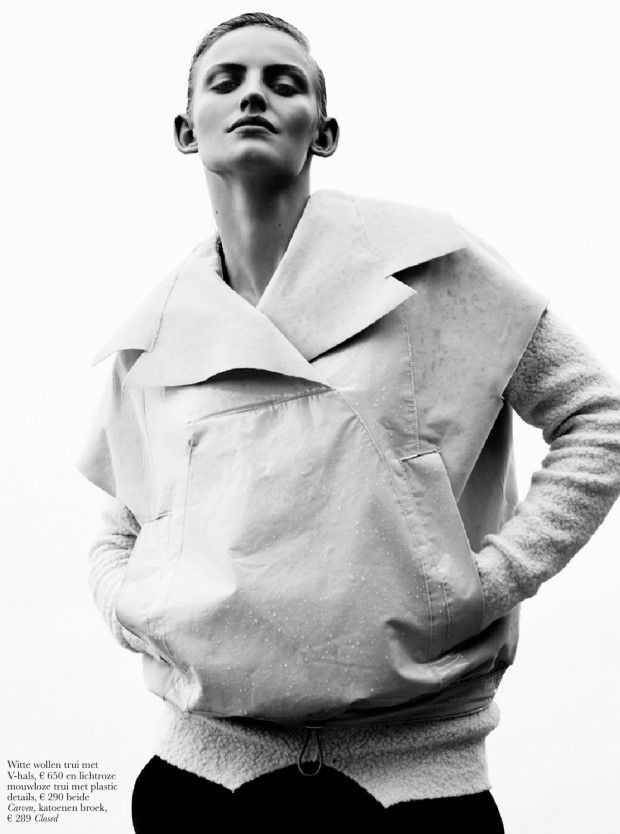 awesome Maxime Van Der Heijden por Jeroen W. Mantel para Elle Holanda Setembro 2013  [Editorial]