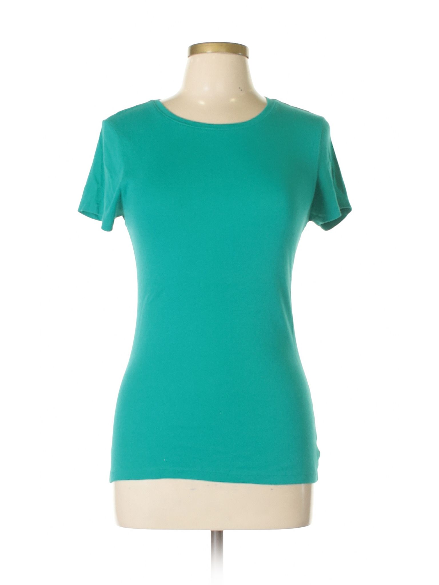 Old Navy Short Sleeve T Shirt Size 800 Teal Womens
