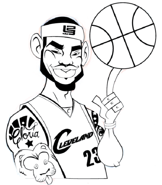 Lebron James Coloring Pages Super Coloring Pages Coloring Pages Baseball Coloring Pages