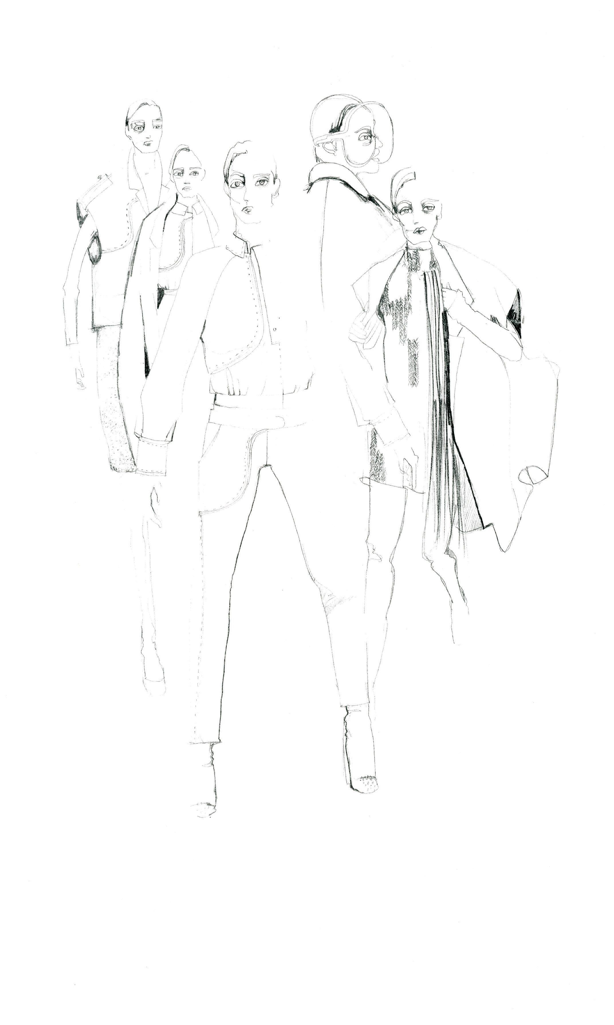 Isabell Yalda Hellysaz, London College of Fashion