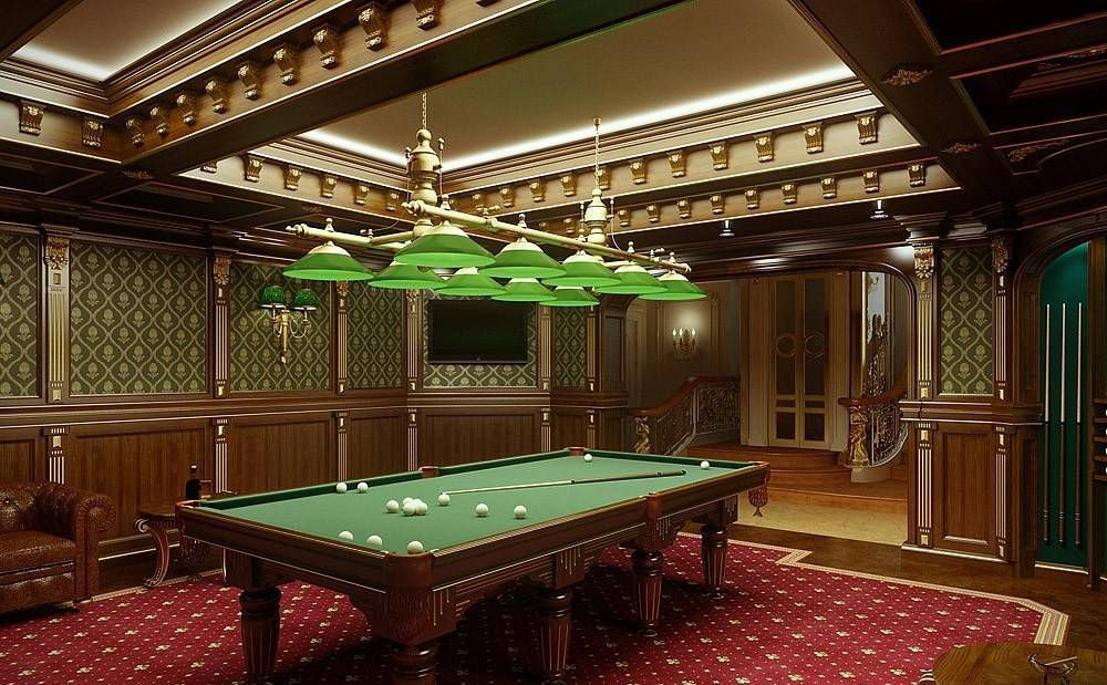Classic Billiard Design Room Home Design And Decor Inspiration