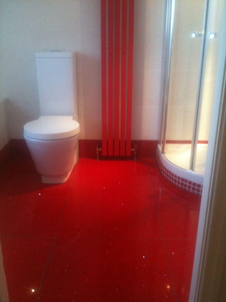 Red Tile Floor Google Sk Bathroom Tiles Ideas Pinterest