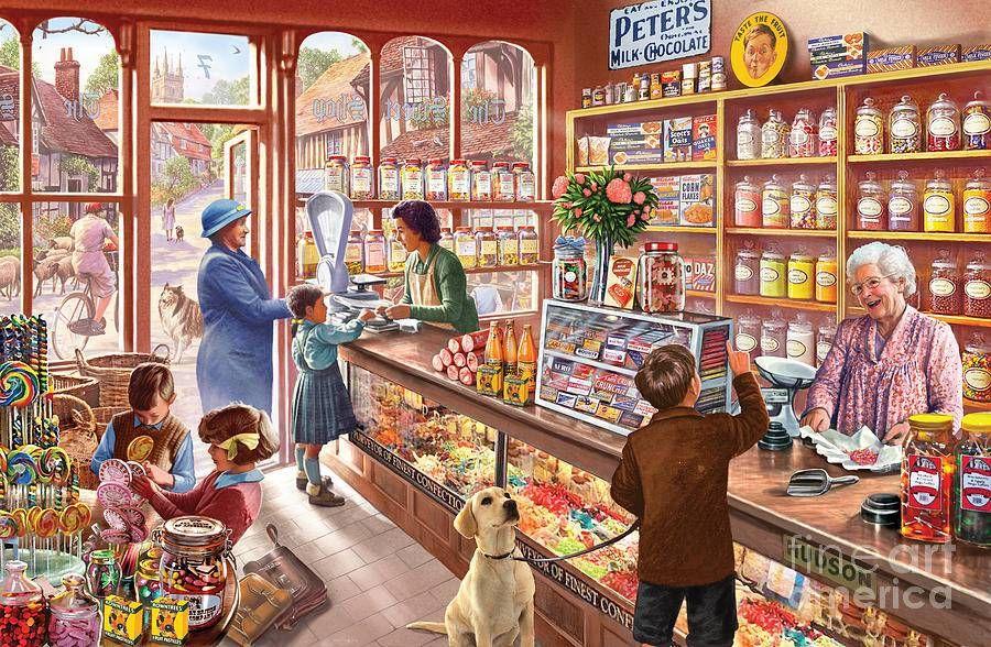 Картинка магазин для детей, роз