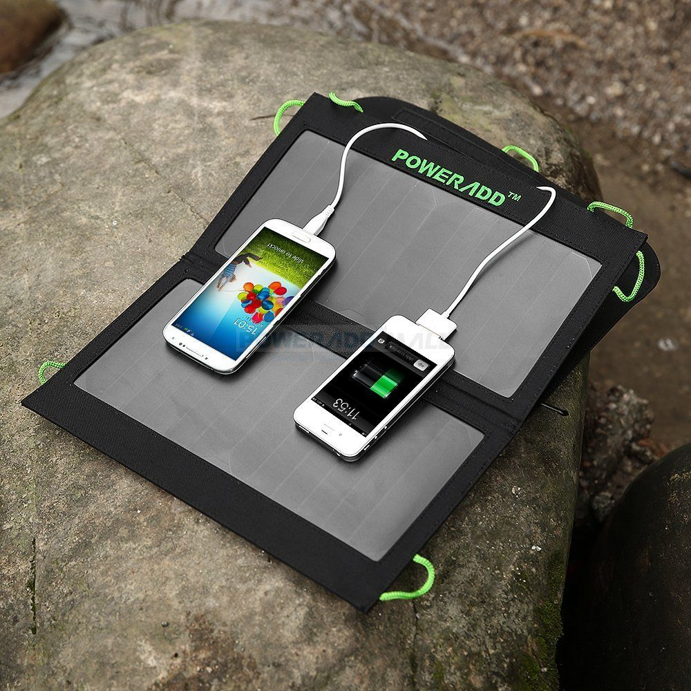 Reliable Rugged And Easy To Use Portable Solar Chargers Help You Get The Power You May Need At A Mom Solar Charger Portable Solar Panel Charger Solar Charger