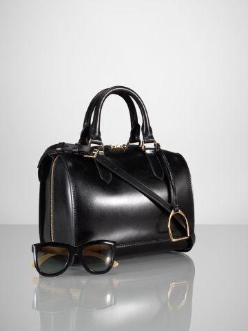 Vachetta Small Boston Bag - Ralph Lauren UK Spectacular ... 16733d7ebf5f3