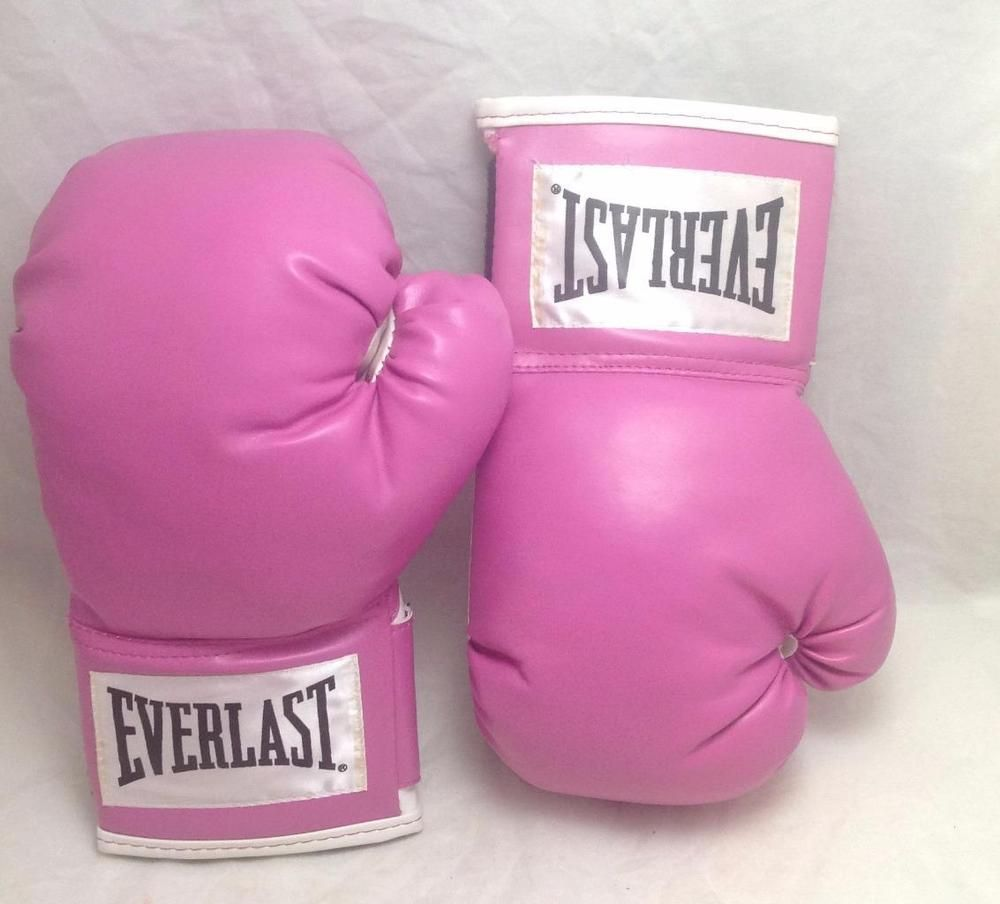 Everlast Womens Boxing Wrist Wrap Training Gloves Heavy Bag Level 1 Red