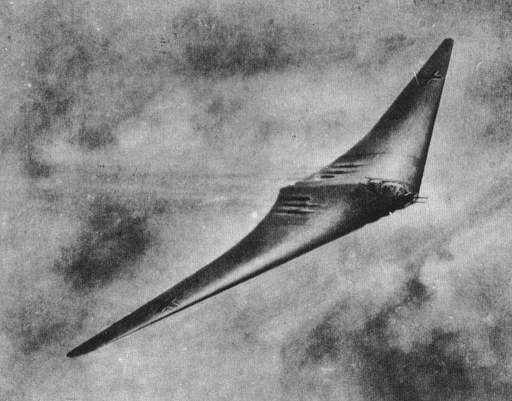 Horten 18 - As discovered by character Captain Norman Miller in his P-51.