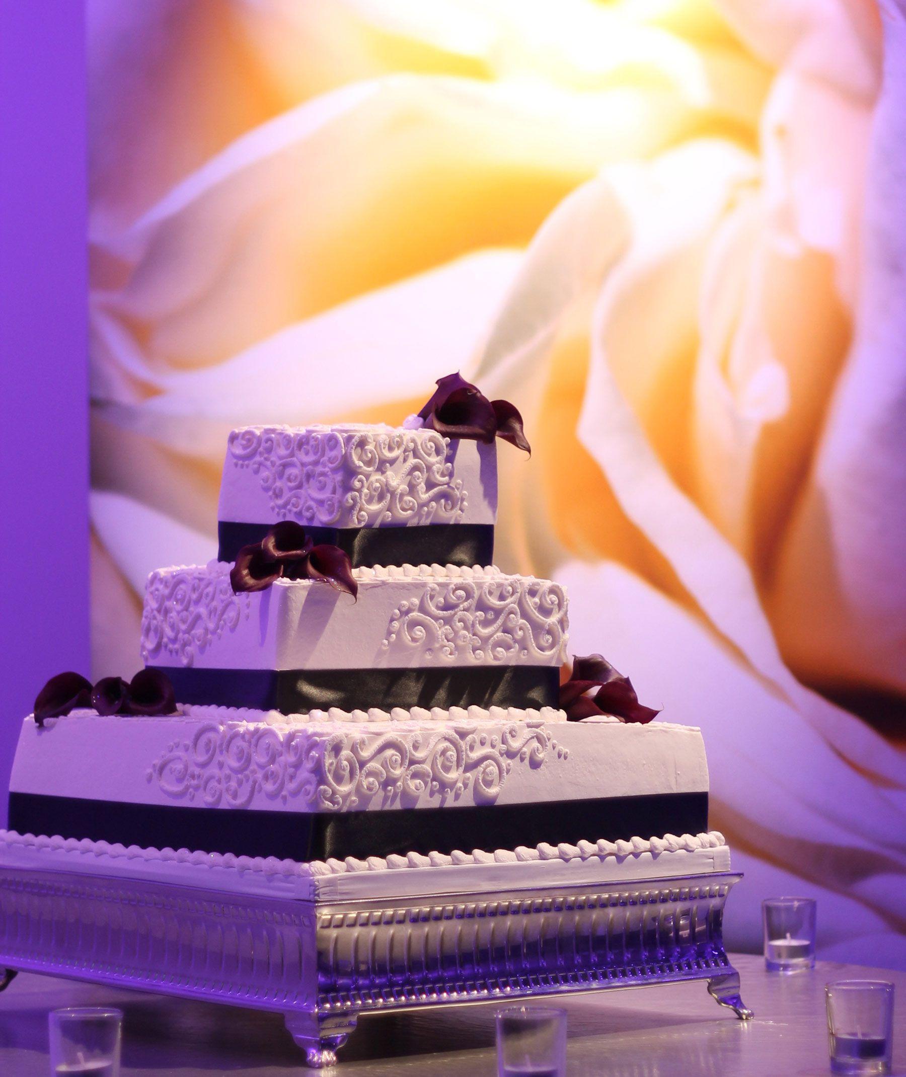 square tier wedding cakes Seven Degree Wedding Cakes Laguna