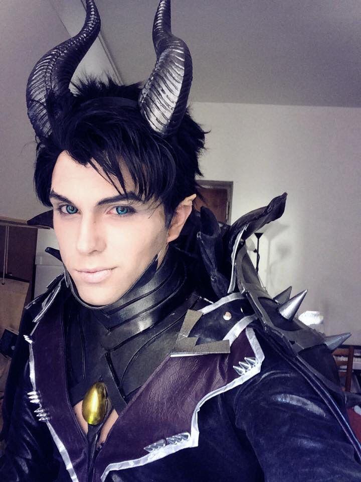 Maleficent genderswap cosplay sakimichan design by