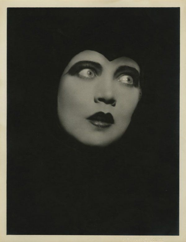 Renee Adoree by Ruth Harriet Louise. (Bizarre Los Angeles)