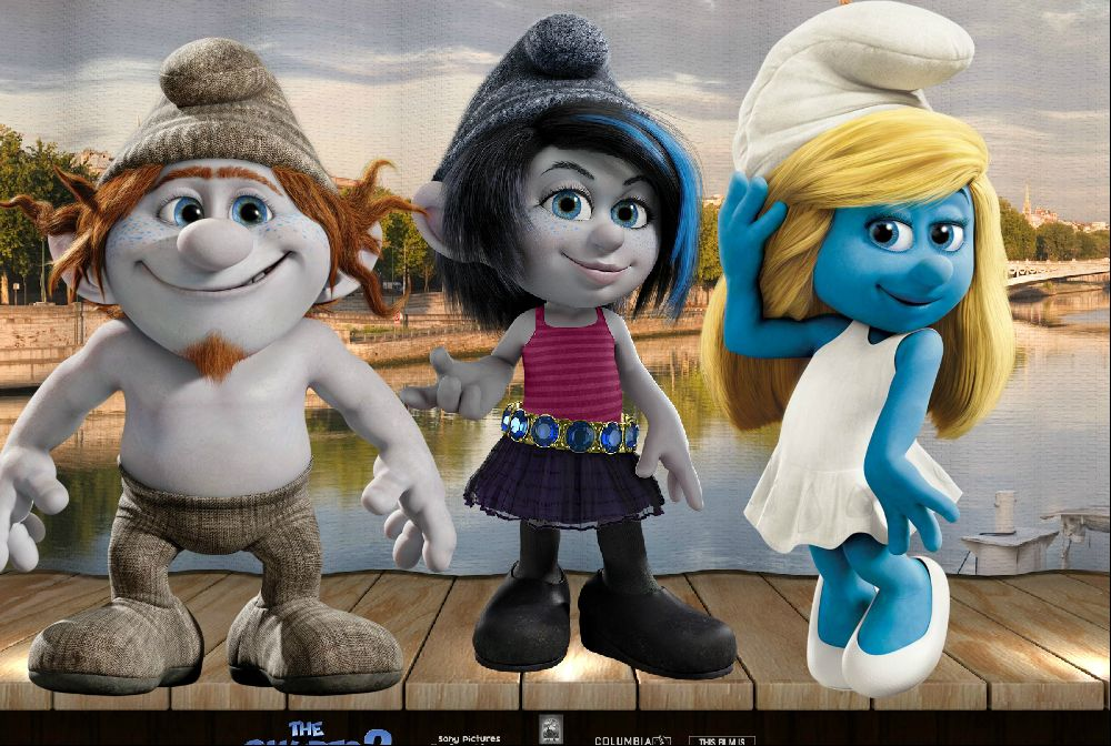 the smurfs 2 vexy hackus and smurfette by smurfette123 on
