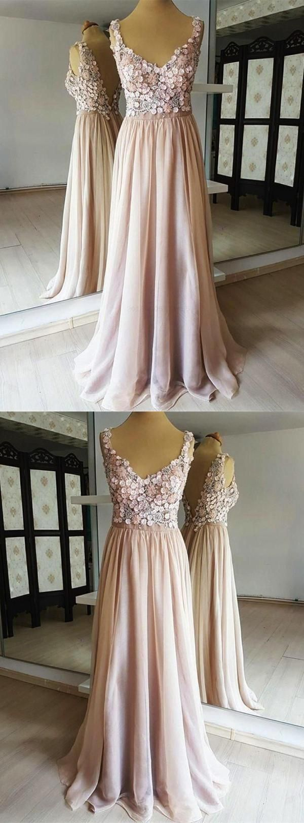 Hot sale feminine champagne open back lace chiffon in prom